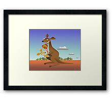 Mothers Day for Kangaroos Framed Print