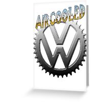 VW GEAR Aircooled 0002 Greeting Card