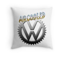 VW GEAR Aircooled 0002 Throw Pillow
