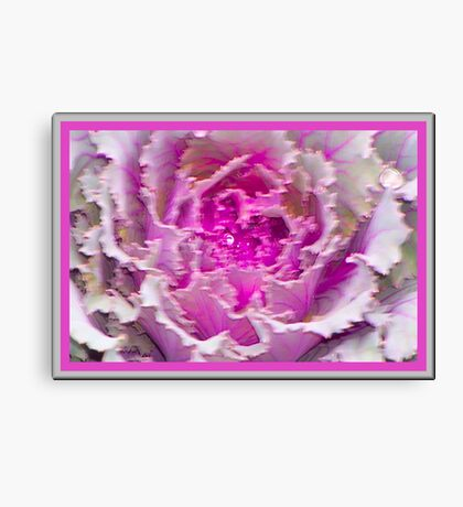 Pretty Pink Soft and Wet Canvas Print