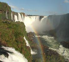 rainbow falls by mickeyb