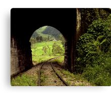 Colombian Tunnel  Canvas Print