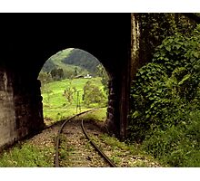Colombian Tunnel  Photographic Print