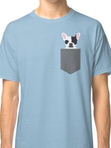 Parker - French Bulldog animal art modern colors for dog people Classic T-Shirt