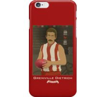 Grenville Dietrich - North Adelaide (on Robran Red) iPhone Case/Skin