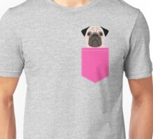Taylor - Pug dog art phone case for pet lovers and dog people Unisex T-Shirt