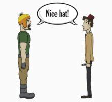Nice Hat One Piece - Short Sleeve