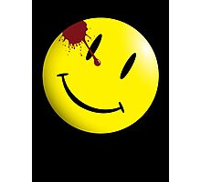 Watchmen Smiley Face Photographic Print