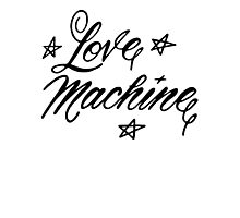 LOVE MACHINE Photographic Print