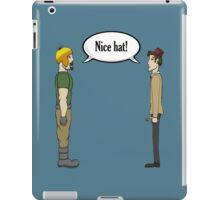 Nice Hat iPad Case/Skin