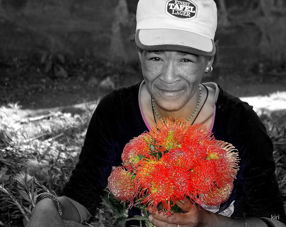 Flower seller by kiri