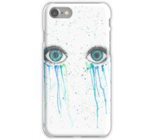 Eye painting iPhone Case/Skin