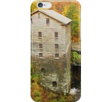 Lantermans Mill In Fall iPhone Case/Skin