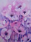 Shirley Poppies by Val Spayne