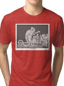 Standup Chameleon  Tri-blend T-Shirt