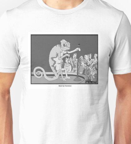 Standup Chameleon  Unisex T-Shirt