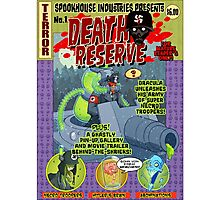 Death Reserve Comic Book Issue #1 Cover Photographic Print
