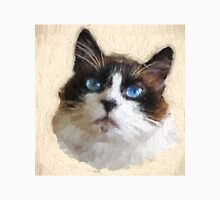 Cat with BIG Blue Eyes Unisex T-Shirt