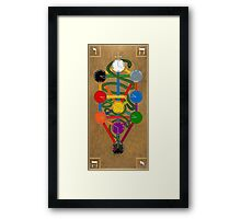 The Sword and the Serpent Framed Print