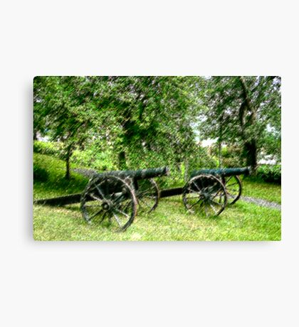 A Canon in Green by Canon Canvas Print