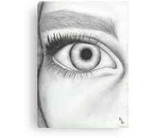 Eye sketch Canvas Print