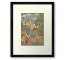 The Righteous Warrior  Framed Print