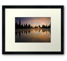 Burning Dawn Framed Print
