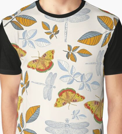 Butterflies and dragonflies Graphic T-Shirt