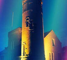 Mackinac Lighthouse-Mackinac, Michigan by Kathy Russell