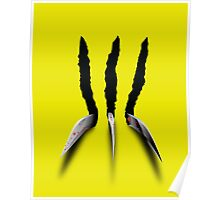 Wolverine Claws Poster