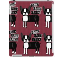 Boston Accent Terrier iPad Case/Skin