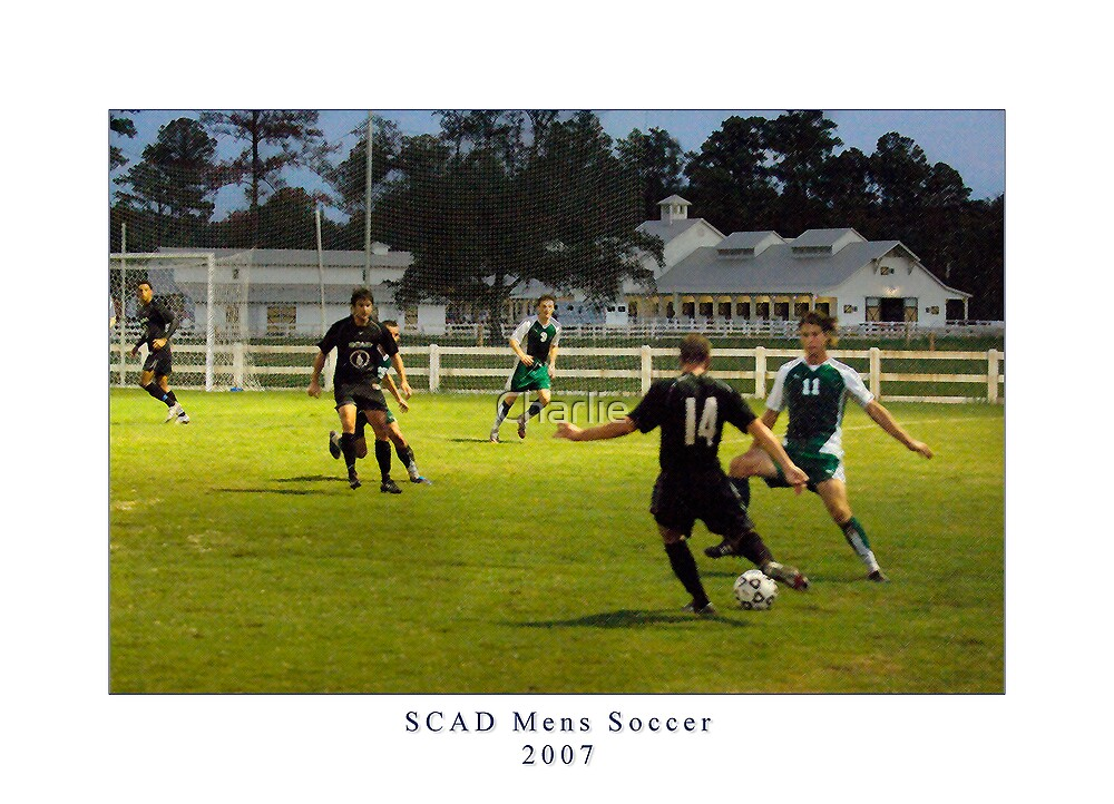 SCAD's Men's Soccer Team by Charlie