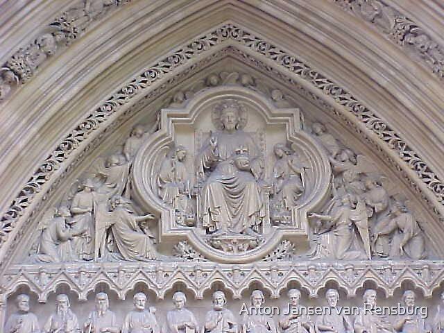 Church by Anton Jansen van Rensburg