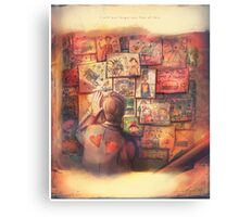 I Will Not Forget One Line of This - Doctor Who Canvas Print
