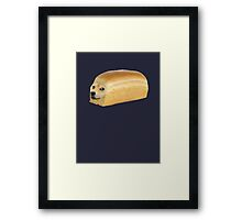 Doge Bread Framed Print