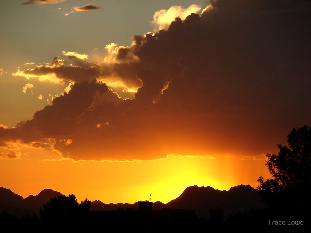 Arizona Stormy Skys by Trace Lowe