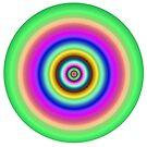 Circles target image. by britishphotos