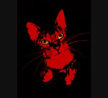 Cats Eye Womens Fitted T-Shirt