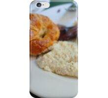 Cafe Amelie - Breakfast with Croissant & Grits iPhone Case/Skin