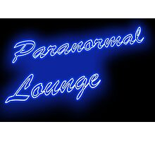 The PARANORMAL LOUNGE  Photographic Print