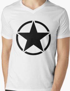 Army Invasion Star Mens V-Neck T-Shirt