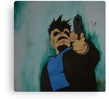 """look me in the eye and tell me i'm crazy"" Canvas Print"