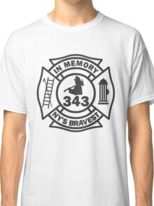In Memory of NY 343 style BLK Classic T-Shirt