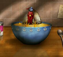 Animal - Chicken - Chicken Soup by Mike  Savad