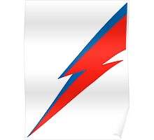 Bowie Bolt Poster