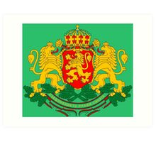 BULGARIA-COAT OF ARMS Art Print