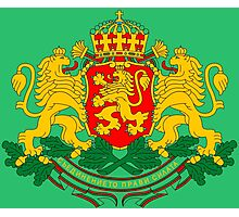 BULGARIA-COAT OF ARMS Photographic Print