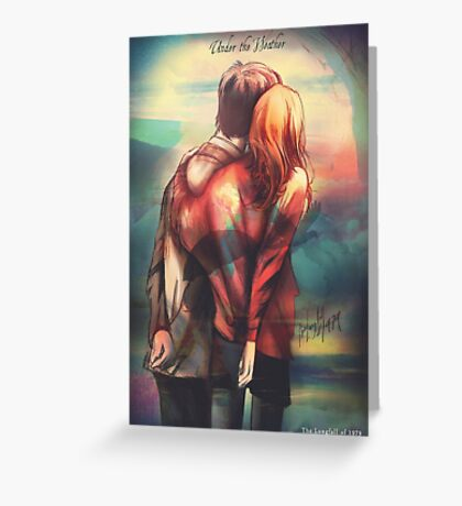 Love In Hard Times Greeting Card