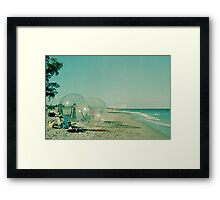 Beach Balls Framed Print