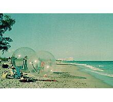 Beach Balls Photographic Print